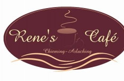 Rene´s-Cafe,-Chieming,-Arlaching,-Traunstein