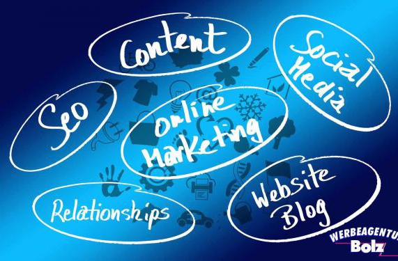 Online Marketing, website Erstellung